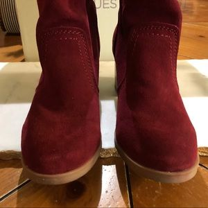 EUC Canyon River Blues burgundy boots